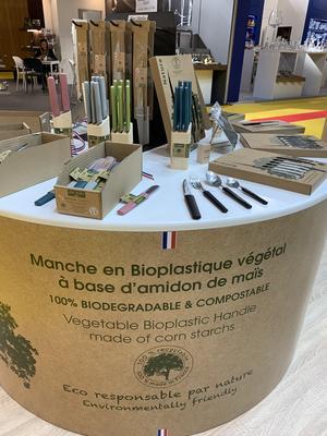 Jean Dubost podium ecoresponsable bioplastique végétal